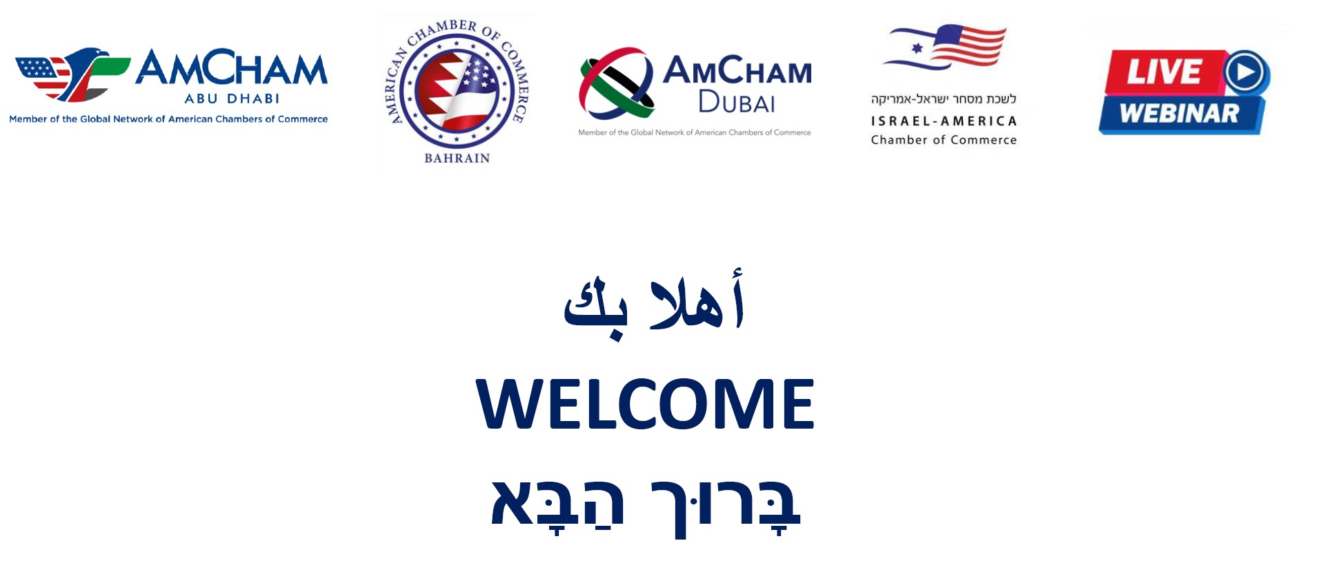 Special Joint 4-Amcham Boards Meeting: Abu Dhabi, Dubai, Bahrain and Israel
