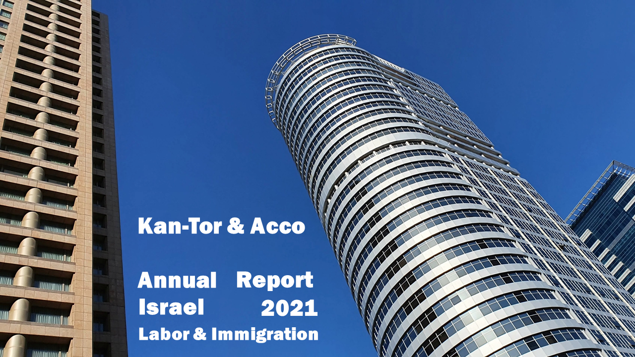 Israel 2021 Labor & Immigration Annual Report